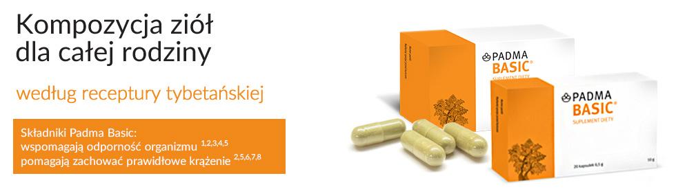 Padma Basic to kompozycja ziół wspomagająca odporność organizmu i prawidłowe krążenie